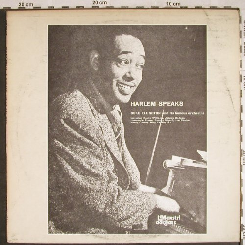 Ellington,Duke: Harlem Speaks, m-/VG-, Family(SFR-DP 715), I,  - LP - H7913 - 4,00 Euro