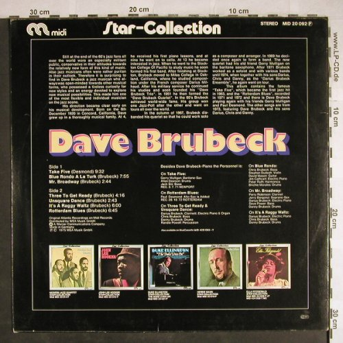 Brubeck,Dave: Same,Star Collection,Ri, MIDI(MID 20 092), D, 1975 - LP - H7933 - 5,00 Euro