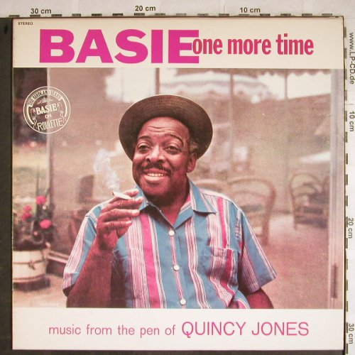 Basie,Count: Basie one more time(Quincy Jones), Roulette/Vogue(500006), F, Ri,  - LP - H8482 - 7,50 Euro