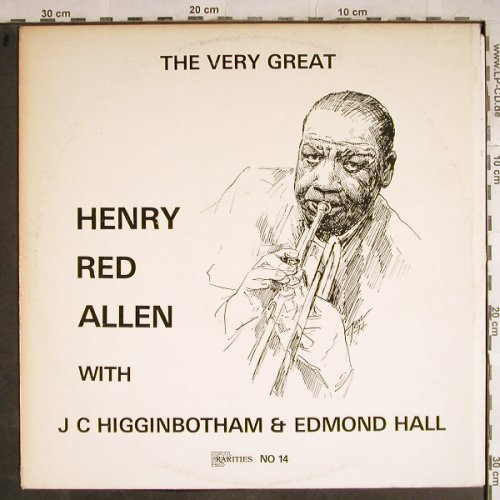 "Allen,Henry ""Red"": The Very Great, m-/vg+, Rarities(14), UK, 1974 - LP - H8550 - 5,00 Euro"