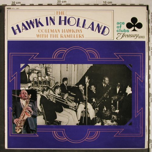 Hawkins,Coleman  w.the Ramblers: Hawk in Holland, vg+/vg+, Stoc, Ace of Clubs(ACL 1247), UK, Mono, 1968 - LP - H9169 - 5,00 Euro