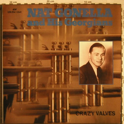 Gonella,Nat and his Georgians: Crazy Valves, ASV(AJA 5055), UK, 1988 - LP - H9170 - 6,00 Euro