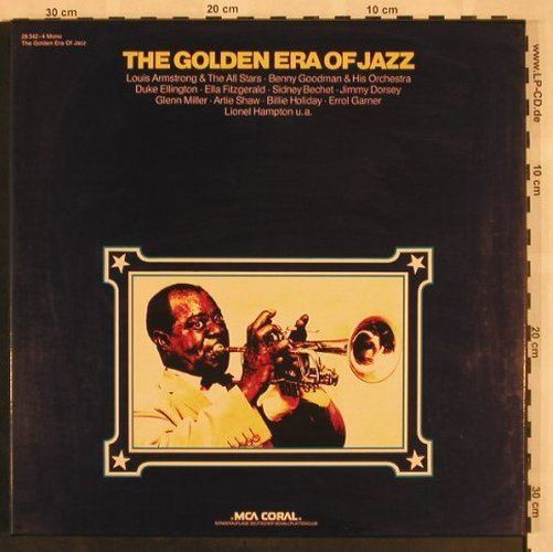 V.A.The Golden Era Of Jazz: 48 Tr.,Box,Club Edition, MCA, Mono(28 342-4), D, m / vg+, 1975 - 3LP - X1008 - 7,50 Euro
