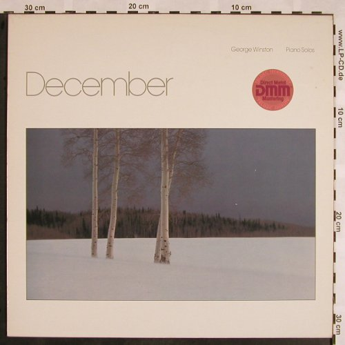 Winston,George: December, piano solos, Windham Hill(TA-C-1025)(6.25883 AP), D, 1982 - LP - X1045 - 6,00 Euro