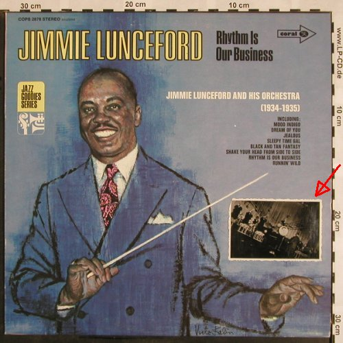 Lunceford,Jimmie: Rhythm Is Our Business,1934-35, Coral(COPS 2878), D.stoc,  - LP - X1072 - 7,50 Euro