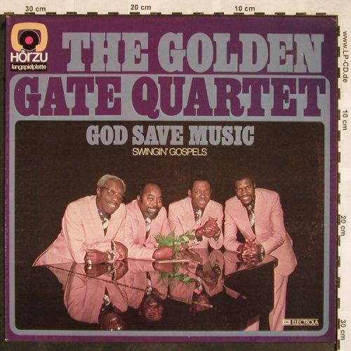 Golden Gate Quartet: God Save Music, HörZu(SHZE 415), D, 1974 - LP - X1291 - 6,00 Euro