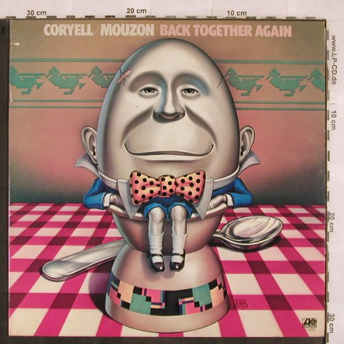 Coryell,Larry & Mouzon: Back Together Again, Atlantic(SD 18220), US, co, 1977 - LP - X171 - 6,00 Euro