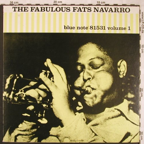 Navarro,Fats: The Fabulous  - Vol.1 (1947),m-/vg+, Blue Note(81531), F, Ri, 1984 - LP - X1821 - 7,50 Euro