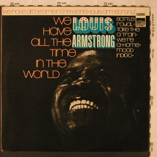 Armstrong,Louis: We have all the time in the world, Sunset(SLS 50 194 Z), D,  - LP - X2550 - 7,50 Euro