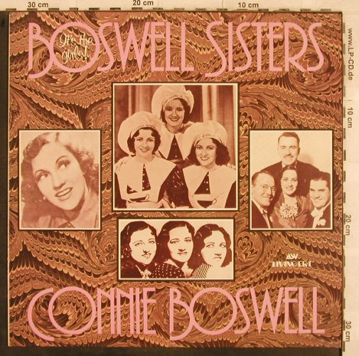 Boswell Sisters / Connie Boswell: It's the girls!, vg+/m-, Living Era(AJA 5014), UK, Mono,  - LP - X272 - 5,00 Euro