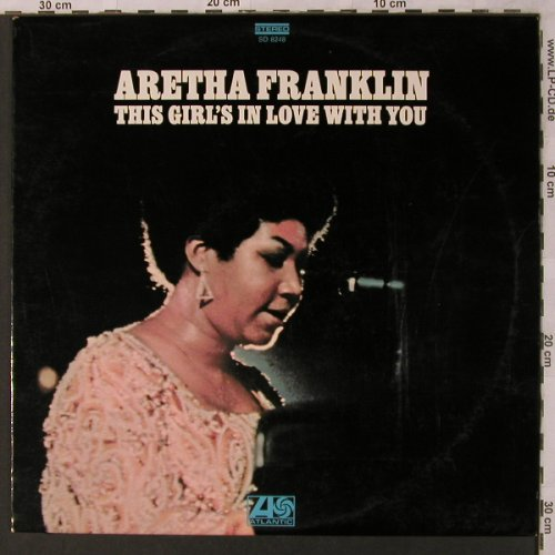 Franklin,Aretha: This Girl's in Love with you, Atlantic(SD 8248), D, 1970 - LP - X2802 - 12,50 Euro