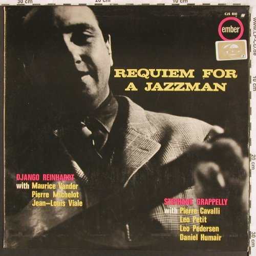 Reinhard,Django/Stephane Grappelli: Requiem for a Jazzman, Ember(CJS 810), UK, 1964 - LP - X3251 - 12,50 Euro