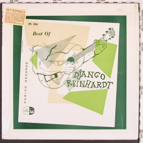 Reinhardt,Django&Quintet Hot ClubOF: Best of, Period(SPL 1204), US,  - LP - X3252 - 12,50 Euro
