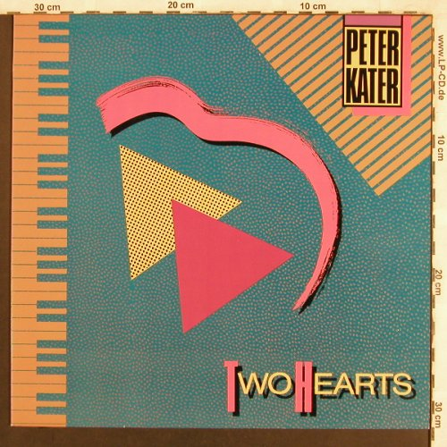 Kater,Peter: Two Hearts, Ptimism(PDK-4001), D, 1986 - LP - X3834 - 5,50 Euro