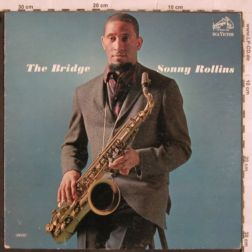 Rollins,Sonny: The Bridge, vg+, Only Cover, RCA Victor(LPM-2527), US, 1962 - Cover - X384 - 3,00 Euro
