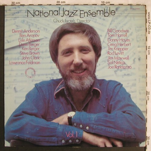 National Jazz Ensenble: Vol.1 - Chuck Israels, Director, Chiaroscuro Records(CR 140), , 1976 - LP - X4006 - 7,50 Euro