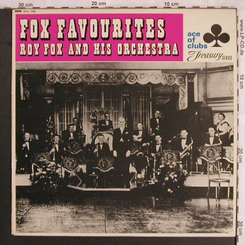 Fox,Roy and his Orchestra: Fox Favourites, Ace of Clubs(ACL 1240), UK,Mono,  - LP - X4009 - 7,50 Euro