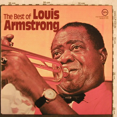 Armstrong,Louis: The Best Of, Club-Sonderauflage, Verve(61 503), D, 1971 - LP - X451 - 9,00 Euro