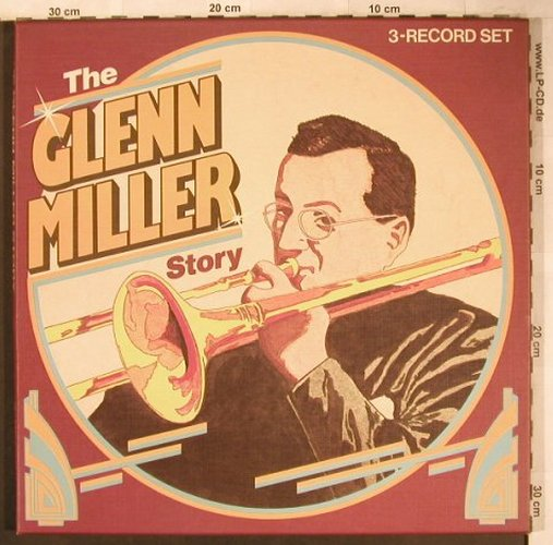 Miller,Glenn: The G.M.Story, Box, Astan(9008/3), D, 1984 - 3LP - X4694 - 7,50 Euro