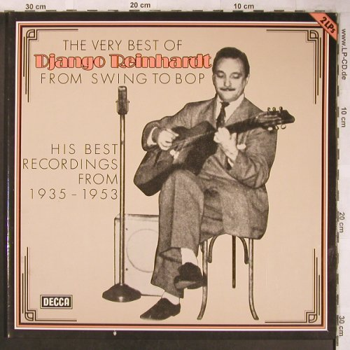Reinhardt,Django: The Very Best Of, Foc, Decca(6.28441 DP), D, 1978 - 2LP - X4879 - 7,50 Euro