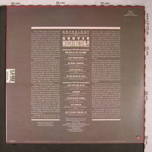 Washington Jr.,Grover: Anthology Of, woc, Elektra(22.103), Brasil, 1985 - LP - X5174 - 6,00 Euro