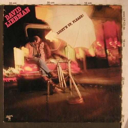 Liebman,Dave: Light'n up, Please !, Horizon(28 238XOT/SP721), D/US,co, 1977 - LP - X5597 - 12,50 Euro