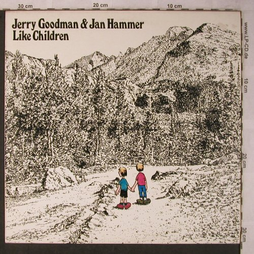 Goodman,Jerry & Jan Hammer: Like Children, m-/vg+, WEA(ATL 50 092), D, 1974 - LP - X5675 - 7,50 Euro