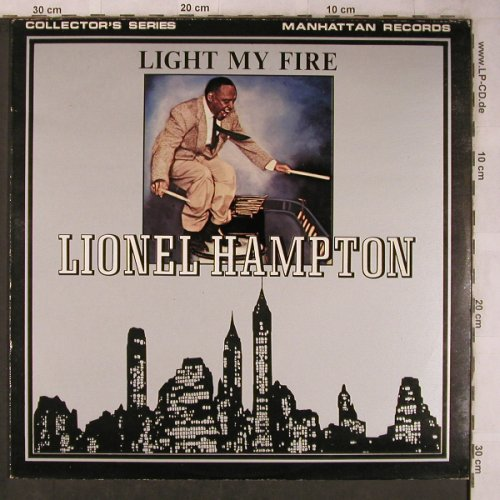 Hampton,Lionel: Light my Fire (Soul), Manhattan(MAN 5004), UK, 1980 - LP - X5743 - 8,00 Euro