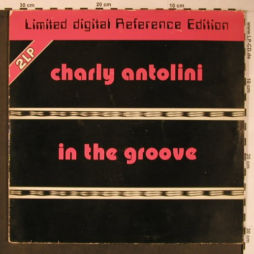 Antolini,Charly: In The Groove, Foc,rec.1972, m-/VG+, MPS(inak 806), D, Ri, 1980 - LP - X5988 - 15,00 Euro