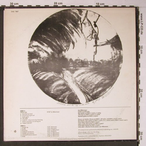 Akkerman,Jan: Profile, SIRE(SAS 7407), US, co, 1972 - LP - X6118 - 7,50 Euro