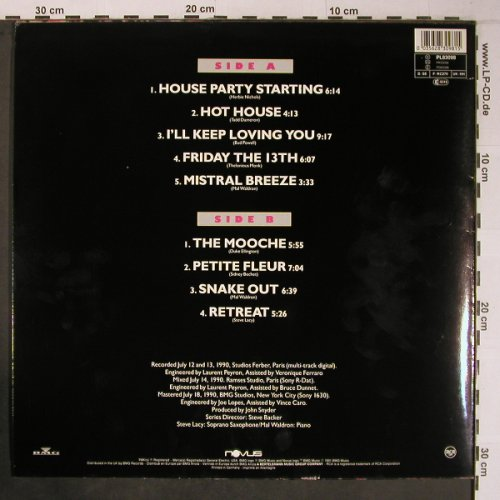 Lacy,Steve / Mal Waldron: Hot House, Novus(PL83098), D,like new, 1991 - LP - X6414 - 30,00 Euro