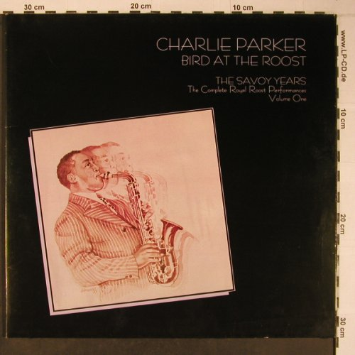 Parker,Charlie: Bird at Roost,Savoy Years,Vol.1,Foc, Savoy(WL70541(2)), D,like new, 1985 - 2LP - X6430 - 25,00 Euro