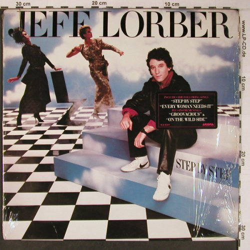 Lorber,Jeff: Step by Step, Arista(AL8-8269), US, 1985 - LP - X6464 - 11,50 Euro