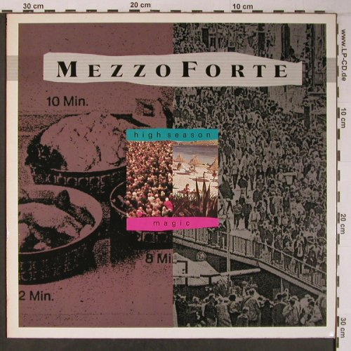 Mezzoforte: High Season 6:00*2/Magic, RCA(PT 43112), D, 1989 - 12inch - X6469 - 4,00 Euro