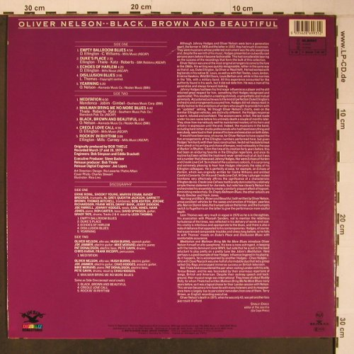 Nelson,Oliver: Black,Brown And Beautiful, Bluebird/RCA(NL86993), D, 1989 - LP - X6487 - 15,00 Euro