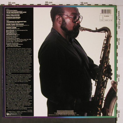 Moody,James: Something Special, Novus(PL83004), D, 1986 - LP - X6494 - 15,00 Euro