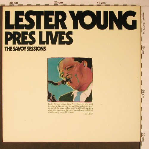 Young,Lester: Pres Live - The Savoy Sessions, Savoy/RCA(WL70528), D,Ri, 1985 - LP - X6580 - 12,50 Euro