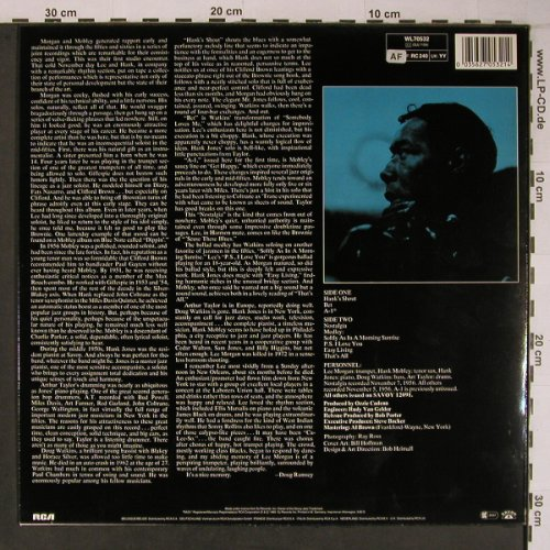 Morgan,Lee / Hank Mobley: A-1 The Savoy Session, Savoy(WL70532), D, 1985 - LP - X6610 - 30,00 Euro