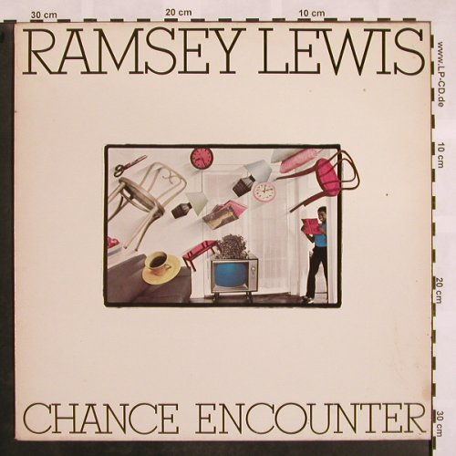 Lewis,Ramsey: Chance Encounter, m-/vg+, CBS(CBS 25 057), NL, 1982 - LP - X810 - 5,00 Euro