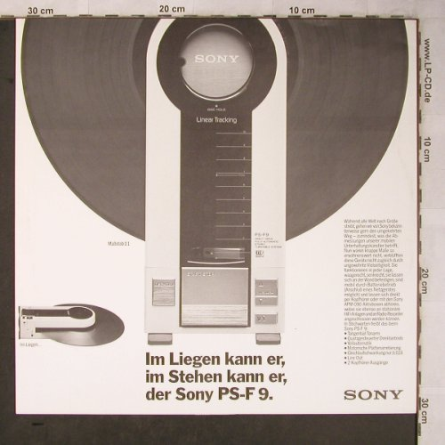 Sony - Innersleeve: Walkman, PS-F9, Sony(2400331), D,  - Sleeve - X5340 - 1,50 Euro