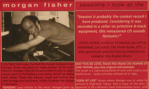 Fisher,Morgan: Seasons / Look at Life, FS-New, Voiceprint(VP 290cd), , 2004 - CD - 80247 - 10,00 Euro