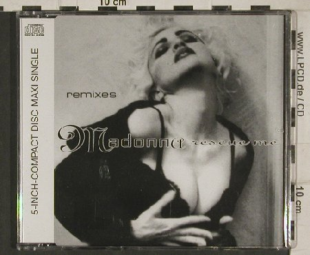 Madonna: Rescue Me*3 - remixes, Sire(9362-40035-2), D, 1991 - CD5inch - 81050 - 5,00 Euro