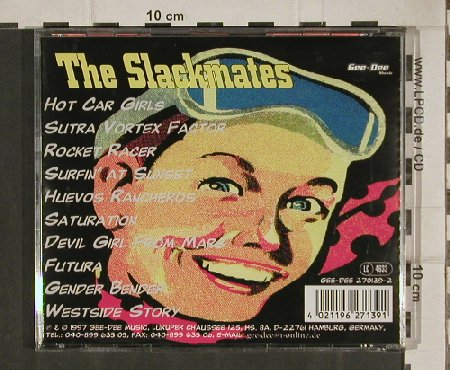 Slackmates: Hot Car Girls, 10 Tr., Gee-Dee(270139-2), D, 1997 - CD - 81093 - 10,00 Euro