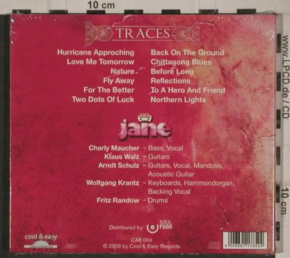 Jane: Traces, Digi, FS-New, Cool & Easy Rec.(CAE 004), , 2009 - CD - 81148 - 10,00 Euro