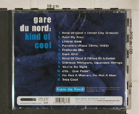 Gare du Nord: Kind Of Cool, FS-New, Moving Coil Music(944.0155.026), EU,Digi, 2003 - CD - 81168 - 12,50 Euro
