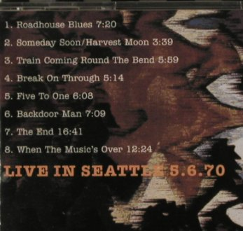 Doors: Lizard King-Live in Seattle, 1970, Crocodile Beat(53009), , 1993 - CD - 81239 - 10,00 Euro