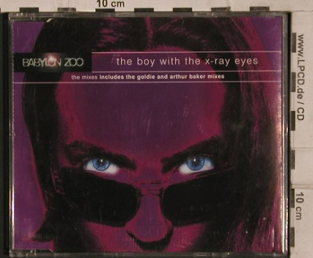 Babylon Zoo: The Boy With The X-Ray Eyes*4, EMI(), NL, 1996 - CD5inch - 82035 - 2,50 Euro
