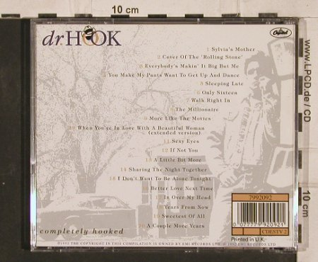 Dr.Hook: Completely Hooked,20 Tr., Capitol(), UK, 1992 - CD - 82241 - 5,00 Euro