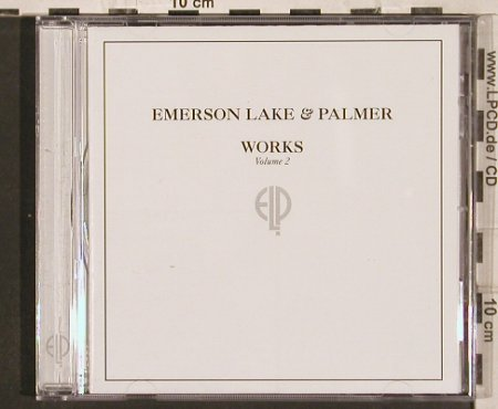 Emerson,Lake & Palmer: Works Vol.2 '77, 15 Tr., Atlantic(), D, 2001 - CD - 82244 - 7,50 Euro