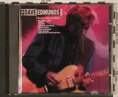 Edmunds Band,Dave: I Hear You Rockin', Arista(), D, 1987 - CD - 82245 - 10,00 Euro